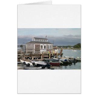 Boats And Buoys Card