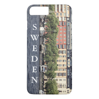 Boats and houses in Stockholm iPhone 8 Plus/7 Plus Case