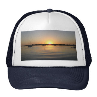 Boats and Sunrise Hat