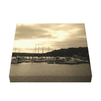 Boats at Kinsale Canvas Print