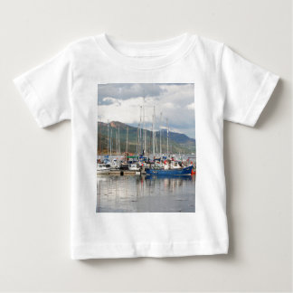 Boats at Kyleakin, Isle of Skye, Scotland Baby T-Shirt