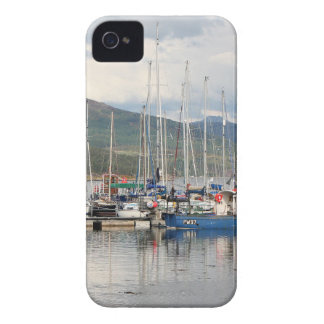 Boats at Kyleakin, Isle of Skye, Scotland Case-Mate iPhone 4 Cases