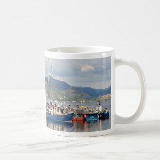 Boats at Kyleakin, Isle of Skye, Scotland Coffee Mug