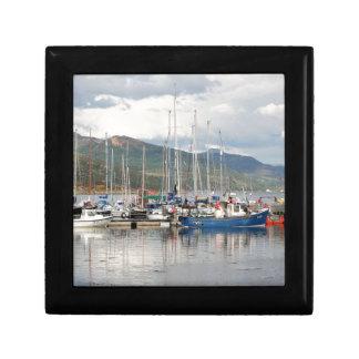 Boats at Kyleakin, Isle of Skye, Scotland Gift Box