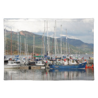 Boats at Kyleakin, Isle of Skye, Scotland Placemat