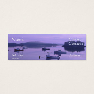 Boats at Sunrise Profile Card