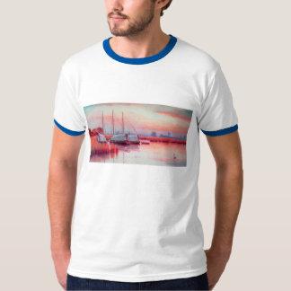 BOATS AT SUNSET T-Shirt