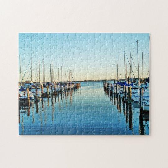 Boats At The Marina by Shirley Taylor Jigsaw Puzzle