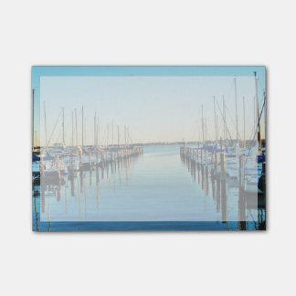 Boats At The Marina by Shirley Taylor Post-it Notes