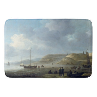 Boats Beach Ocean Sailboats Holland Bath Mat
