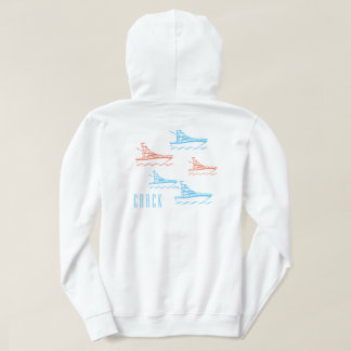 BOATS & BIRDS COLLECTION HOODIE