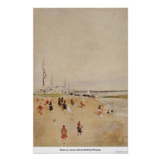 Boats by James Abbott McNeill Whistler Poster