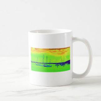 Boats Classic White Coffee Mug