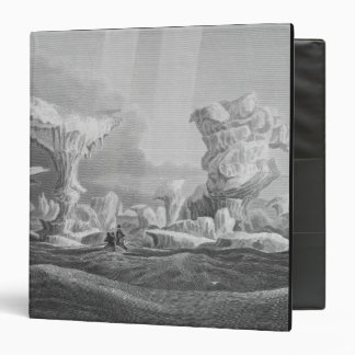 Boats in a Swell Amongst Ice, August 24, 1826, fro Vinyl Binder