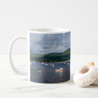 Boats in Barmouth Harbour Coffee Mug