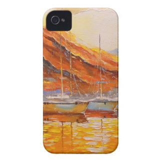 Boats in Harbor Case-Mate iPhone 4 Case