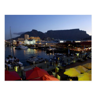 Boats in harbor, South Africa Postcard