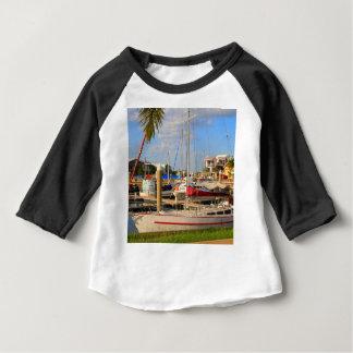 Boats in marina, Darwin, Australia Baby T-Shirt