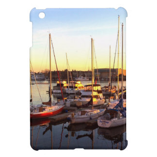 Boats in Marina in Oakland, CA Cover For The iPad Mini