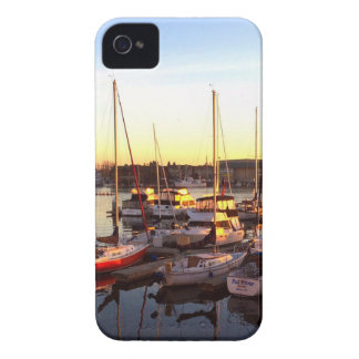 Boats in Marina in Oakland, CA iPhone 4 Case-Mate Cases