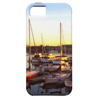 Boats in Marina in Oakland, CA iPhone 5 Cases
