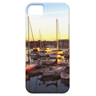 Boats in Marina in Oakland, CA iPhone 5 Cover