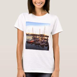 Boats in Marina in Oakland, CA T-Shirt