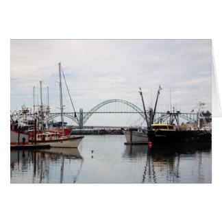 Boats in Oregon Card