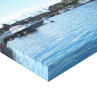Boats in Scandinavia Canvas Print