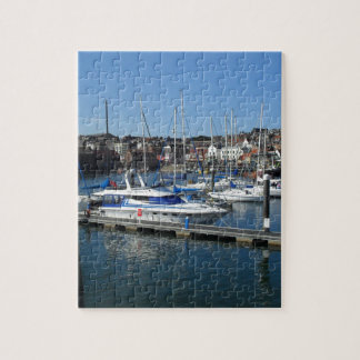 Boats in Scarborough Jigsaw Puzzle