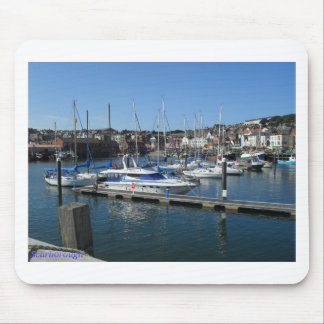 Boats in Scarborough Mouse Pad