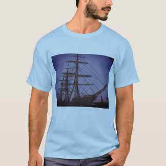 Boats in the seaport T-Shirt