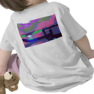 Boats n Fishers at docking yard TEMPLATE add text T-shirts
