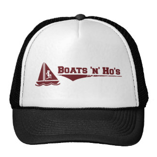 Boats 'n' Hos Trucker Hat