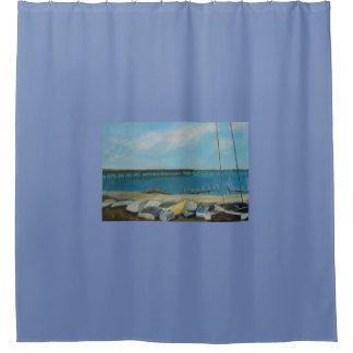 BOATS OF SALT RUN 2 Shower Curtain