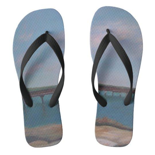 BOATS OF SALT RUN Flip Flops