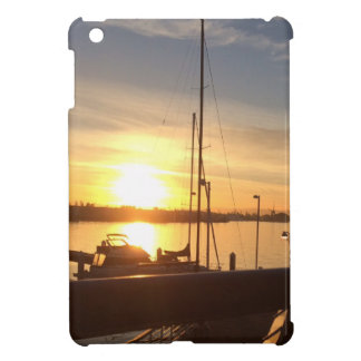 Boats on Marina at Sunset iPad Mini Case