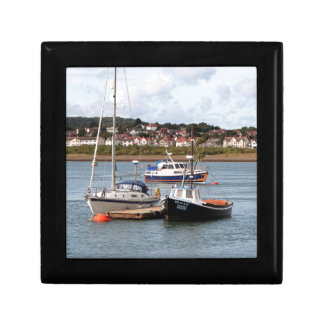 Boats on River Conwy, Wales Gift Box