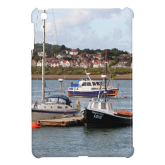 Boats on River Conwy, Wales iPad Mini Covers