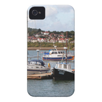 Boats on River Conwy, Wales iPhone 4 Case-Mate Case