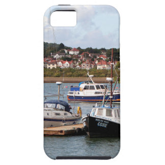 Boats on River Conwy, Wales iPhone 5 Covers
