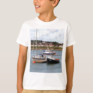 Boats on River Conwy, Wales T-Shirt