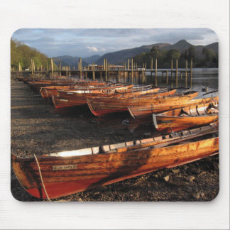 Boats on Shores of Derwentwater Mousepad