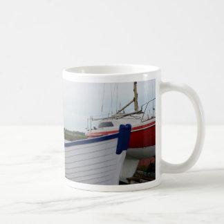 Boats On The Hard Coffee Mug
