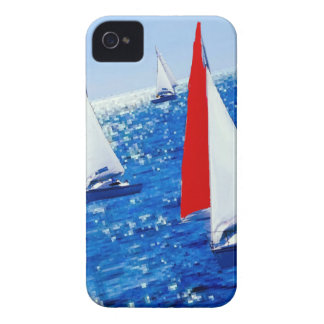 Boats over the sea iPhone 4 covers