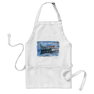 Boats Ready For The Adventure Standard Apron