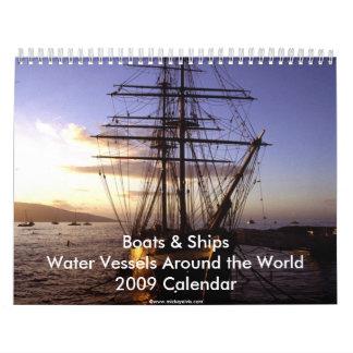 Boats & Ships 2009 Calendar