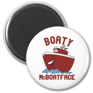 Boaty McBoatface 2 Inch Round Magnet