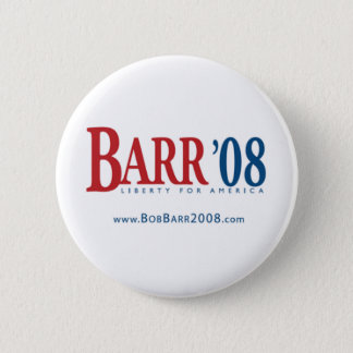 Bob Barr 2 Inch Round Button