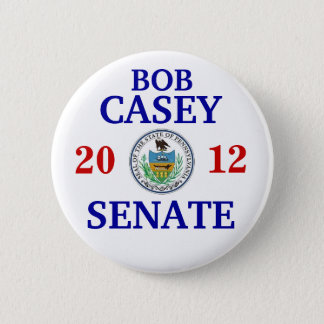 Bob Casey Jr FOR SENATE 2 Inch Round Button